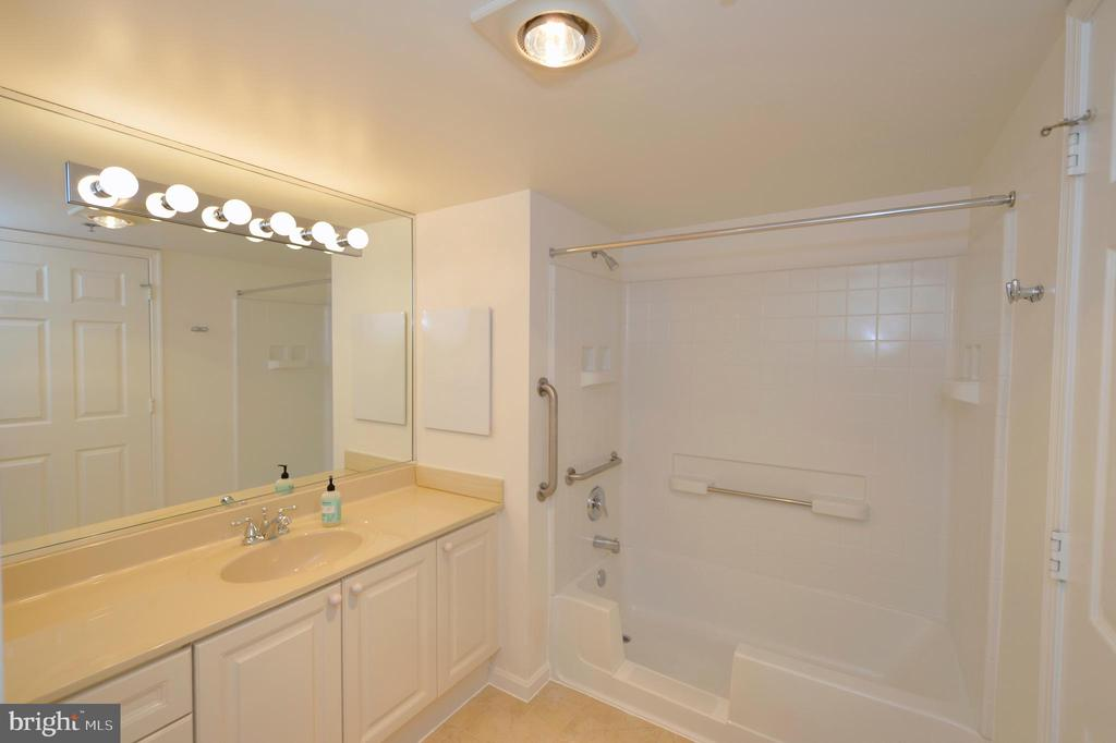 2ND VIEW OF OWNER'S BATH - 19385 CYPRESS RIDGE TER #307, LEESBURG