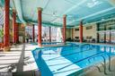 INDOOR SWIMMING POOL - 19385 CYPRESS RIDGE TER #307, LEESBURG