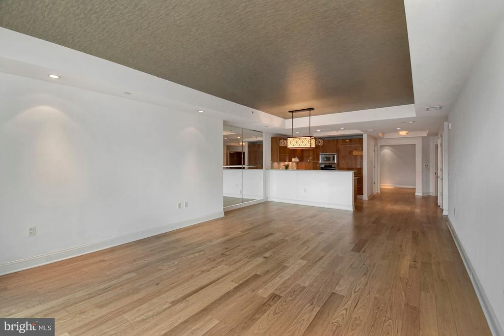 Sweeping Living and Dining Room - 1881 N NASH ST #804, ARLINGTON