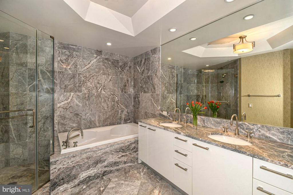 Marble Master Bath - 1881 N NASH ST #804, ARLINGTON