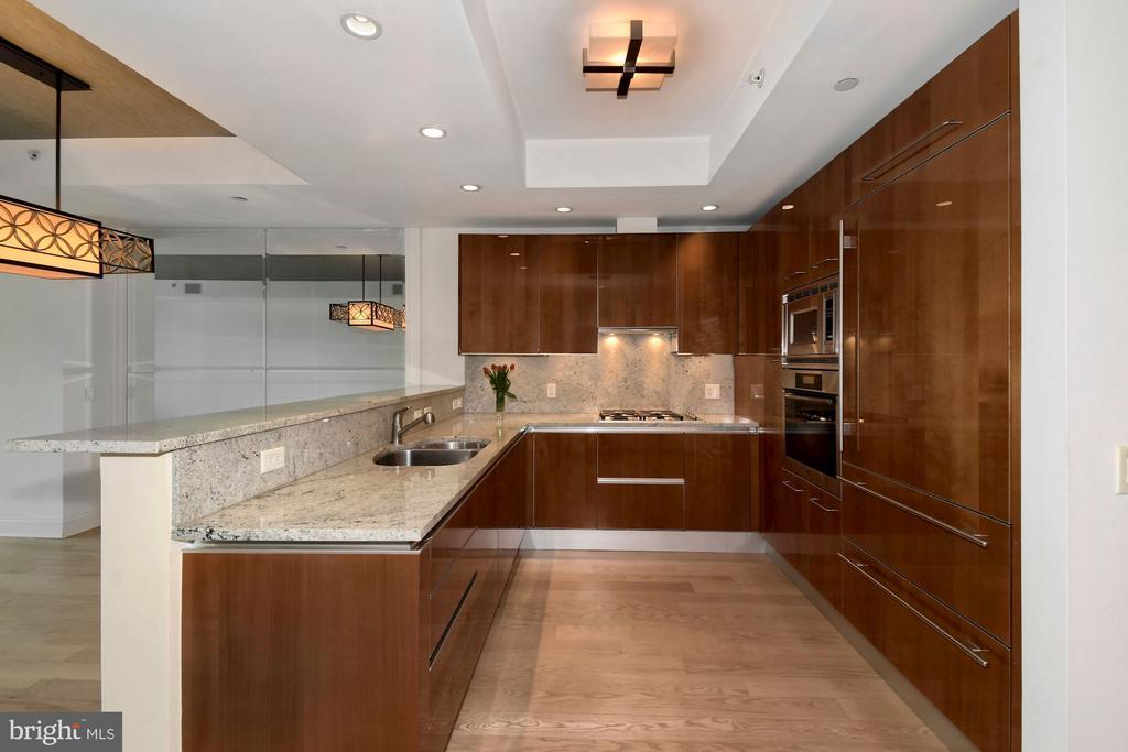 Gourmet Kitchen with breakfast bar - 1881 N NASH ST #804, ARLINGTON