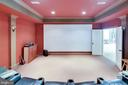 Home theater - 809 HOMESTEAD LN, CROWNSVILLE