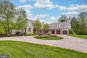 Impressive approach with circular drive - 809 HOMESTEAD LN, CROWNSVILLE