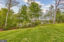 Lots of grass area to run and play - 809 HOMESTEAD LN, CROWNSVILLE