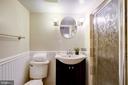 Full bath in basement - 704 8TH ST NE, WASHINGTON