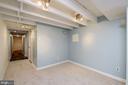 Family room in basement - 704 8TH ST NE, WASHINGTON