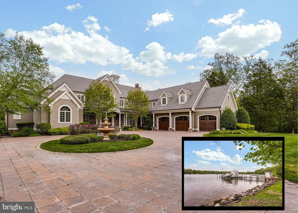 Waterfront living at its finest! - 809 HOMESTEAD LN, CROWNSVILLE
