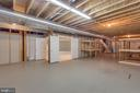 Unfinished area - 41386 RASPBERRY DR, LEESBURG