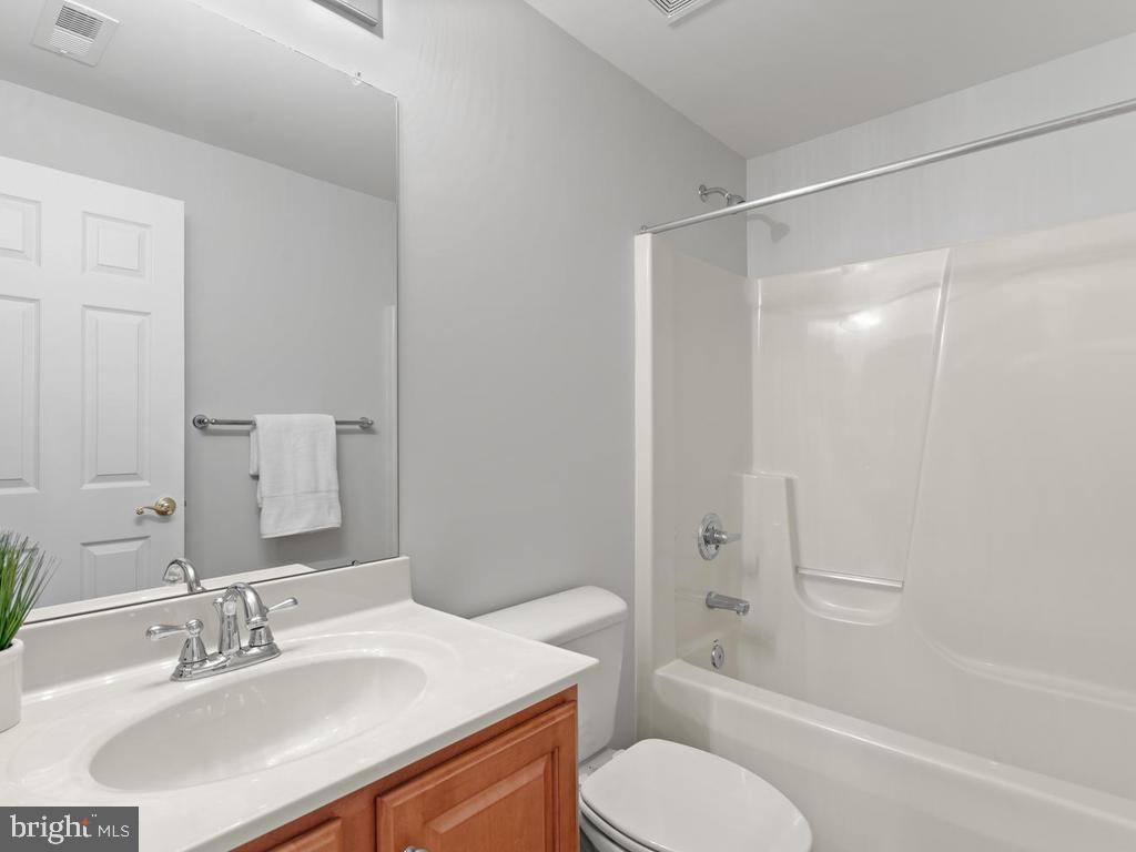 Lower Level Full Bathroom - 114 WHEELER LN, FREDERICK