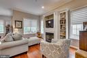 Built ins in Living room - 606 ANDREW HILL RD, ARNOLD