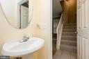 Half Bath on Lower level - 606 ANDREW HILL RD, ARNOLD