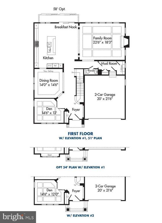 Layout from prior build & is representative - 1600 COLLINGWOOD RD, ALEXANDRIA