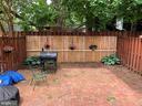 Fully fenced yard - 8 S CHERRY GROVE AVE, ANNAPOLIS