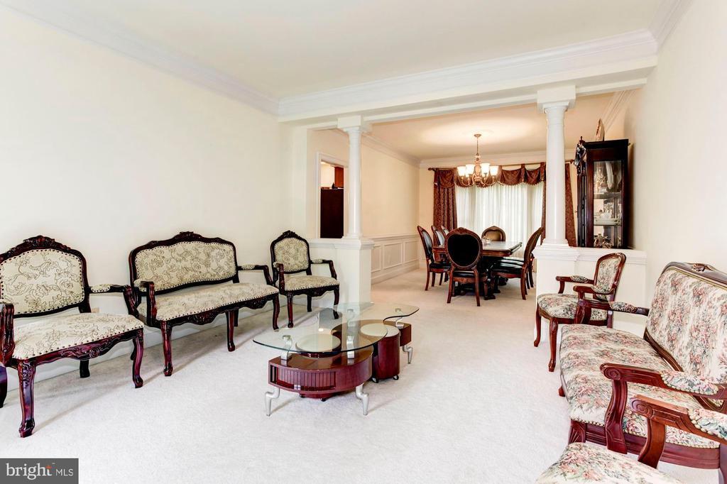 Living Room - 7104 DUDROW CT, SPRINGFIELD