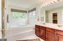 Master Bath - 7104 DUDROW CT, SPRINGFIELD