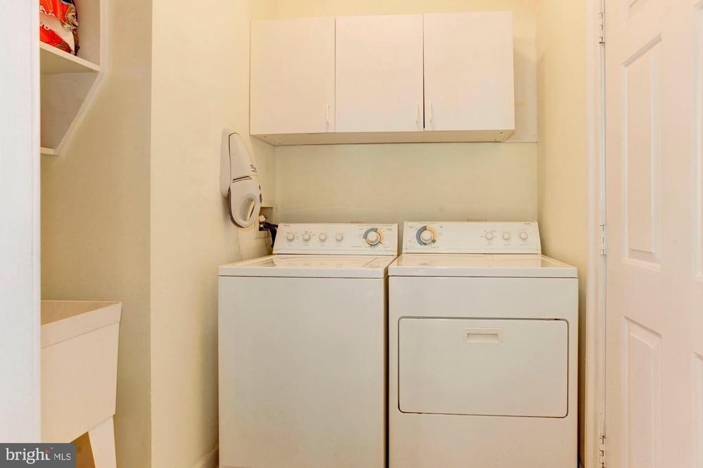 Laundry - Main Level - 7104 DUDROW CT, SPRINGFIELD