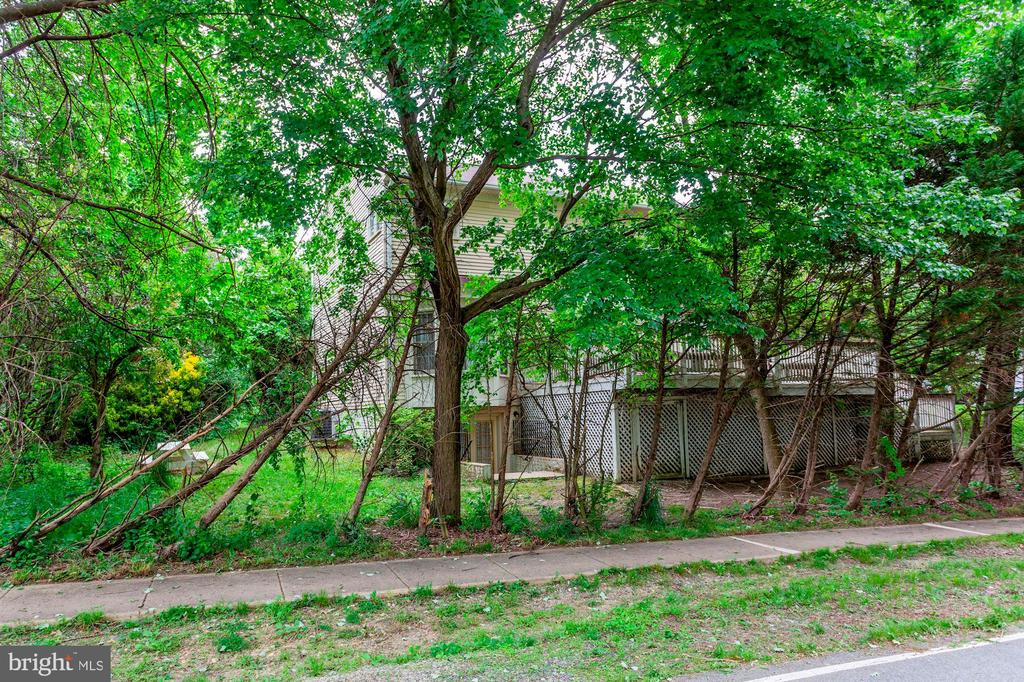 Exterior Rear - Tree Line - 7104 DUDROW CT, SPRINGFIELD