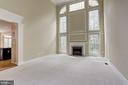 Two Story Family Room - 6115 HOLLY RIDGE CT, COLUMBIA