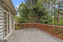 Expansive Tiered Deck - 6115 HOLLY RIDGE CT, COLUMBIA