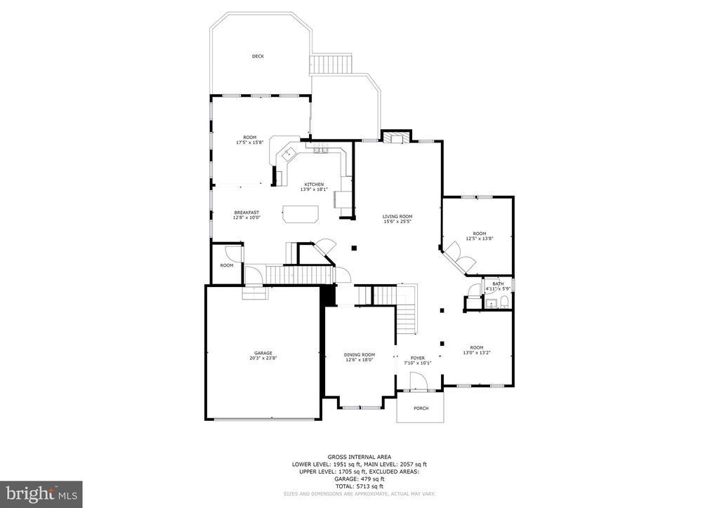 Floor Plan - 6115 HOLLY RIDGE CT, COLUMBIA