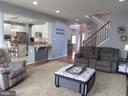 1st floor: family room with hardwood floors - 27 CAPE COD, MARTINSBURG