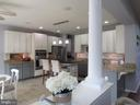 1st floor:  kitchen with tiled floors - 27 CAPE COD, MARTINSBURG