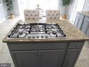 1st floor: recently updated 6 Burner gas stove - 27 CAPE COD, MARTINSBURG
