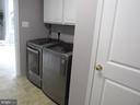 1st floor:  Washer/Dryer - 27 CAPE COD, MARTINSBURG