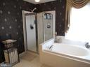 2nd floor: master bath with separate shower - 27 CAPE COD, MARTINSBURG
