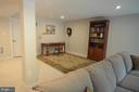 Fully finished rec room in basement. - 9687 AMELIA CT, NEW MARKET