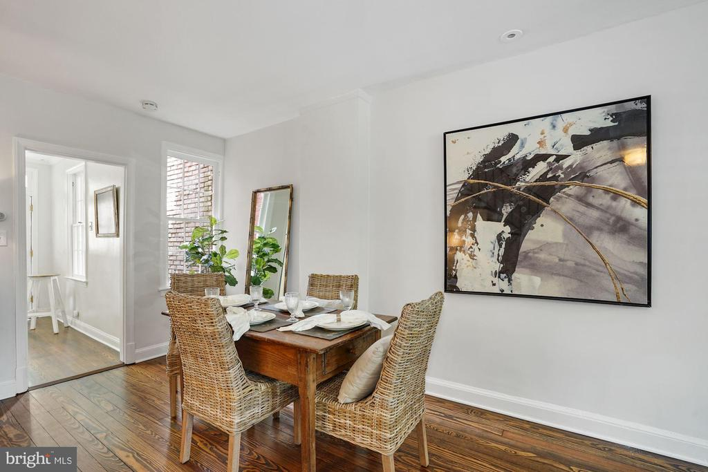 Dining Room - 1555 33RD ST NW, WASHINGTON
