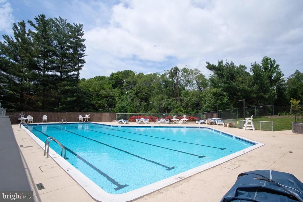 Summertime Just around the Corner at the Pool - 3800 POWELL LN #PH 30, FALLS CHURCH