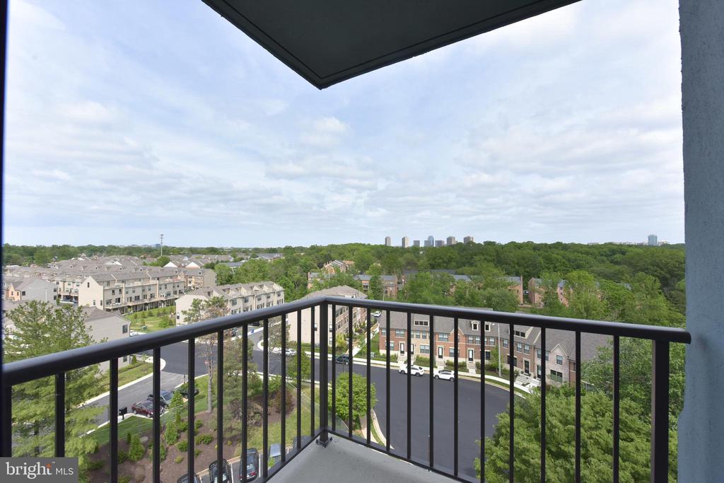 Bedroom #2 Private Balcony Panoramic Views - 3800 POWELL LN #PH 30, FALLS CHURCH