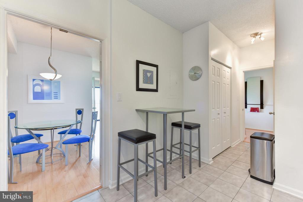Gourmet Chefs Kitchen Includes Table Dining Space - 3800 POWELL LN #PH 30, FALLS CHURCH