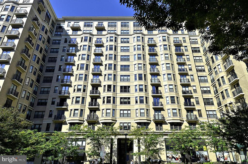 Front View Of Lionsgate - 7710 WOODMONT AVE #1207, BETHESDA