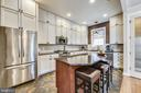 Double Stacked french provincial cabinetry - 20736 JENNIFER ANN DR, ASHBURN