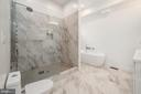 Spa-Like Master Suite with Separate Soaking Tub - 8728 RIDGE RD, BETHESDA