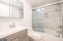 Lower Level Full Bath - 8728 RIDGE RD, BETHESDA