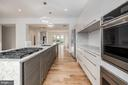 Lacquered Cabinets for easy cleaning! - 8728 RIDGE RD, BETHESDA