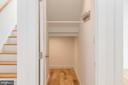 Under Stair Storage and Coat Closet - 8728 RIDGE RD, BETHESDA