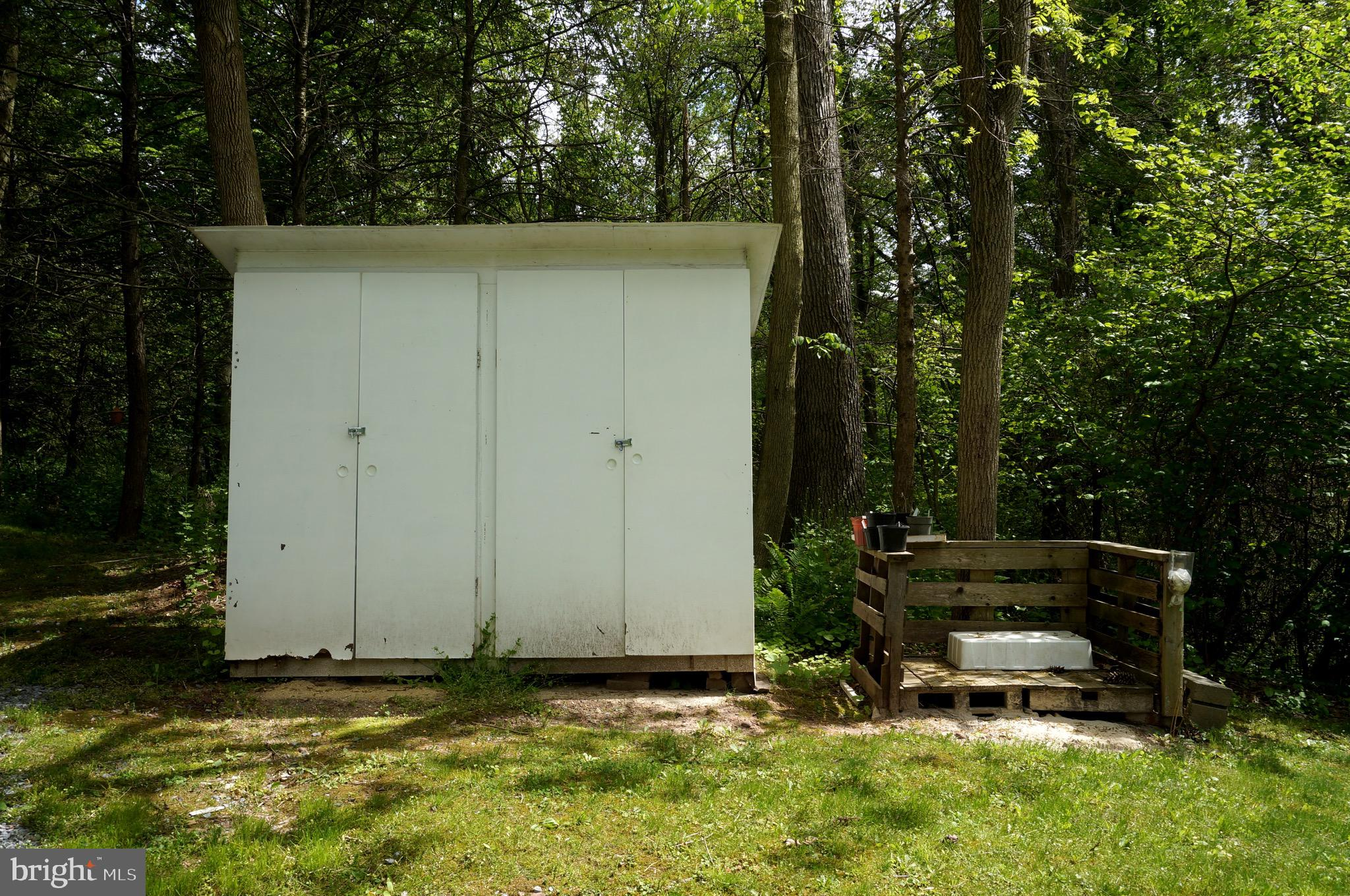 Storage Shed at Front Right Corner of Property