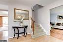 Laminate floor foyer - 11329 CLASSICAL LN, SILVER SPRING