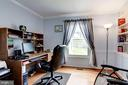 Hardwood Office with built in sheliving - 11329 CLASSICAL LN, SILVER SPRING