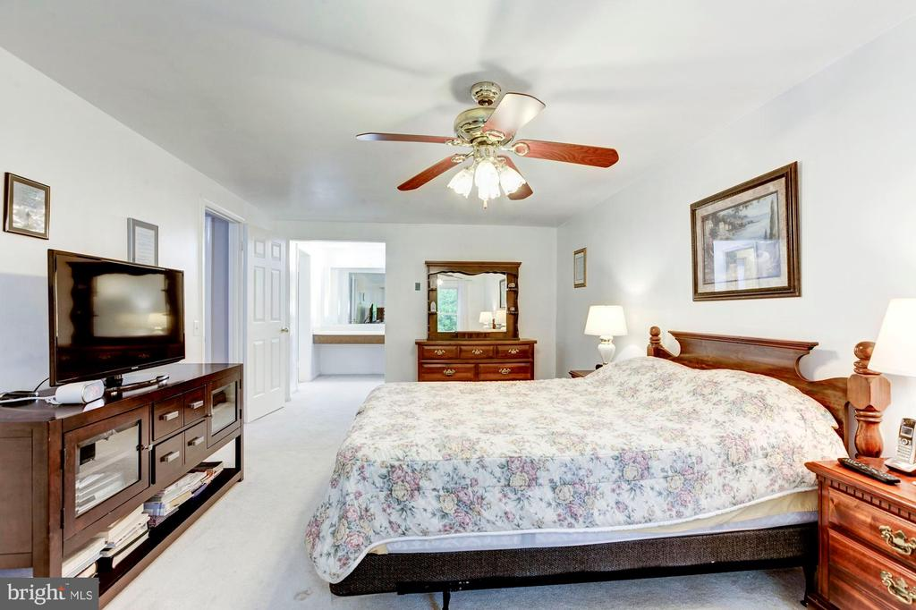 Masterbedroom with view of vanity dressing area - 11329 CLASSICAL LN, SILVER SPRING