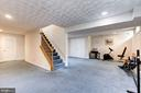 Fully finished large open basement - 11329 CLASSICAL LN, SILVER SPRING