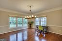 Formal Dinning Room - View 1 - 43671 MINK MEADOWS ST, CHANTILLY