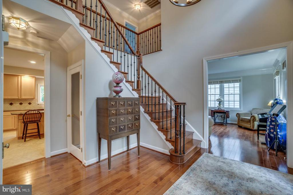 Double Story Foyer - 43671 MINK MEADOWS ST, CHANTILLY