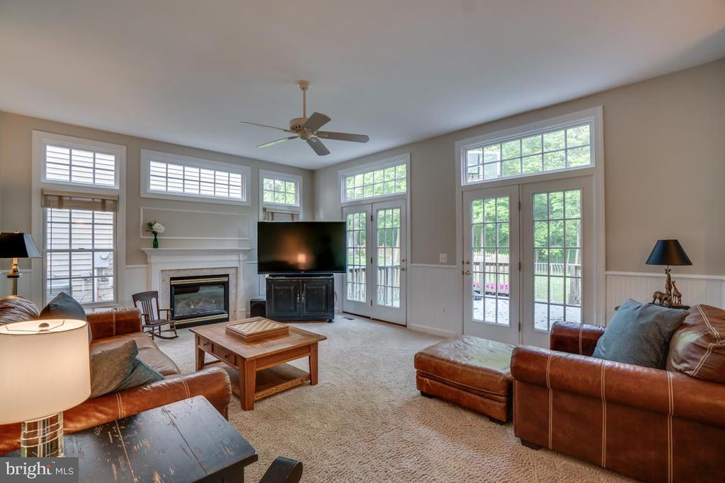 Family Room With Lots Windows And Natural Light. - 43671 MINK MEADOWS ST, CHANTILLY