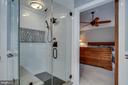Luxury Master Shower - 43671 MINK MEADOWS ST, CHANTILLY