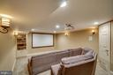 Home Theater / Movie Room - View 1 - 43671 MINK MEADOWS ST, CHANTILLY